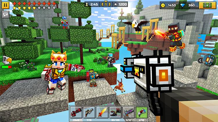 game ban sung 3d pixel gun